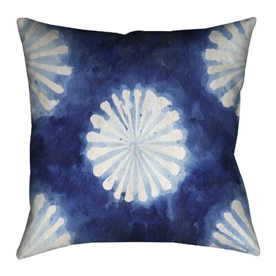 Shibori III Outdoor Throw Pillow