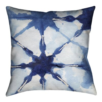 Shibori II Outdoor Throw Pillow
