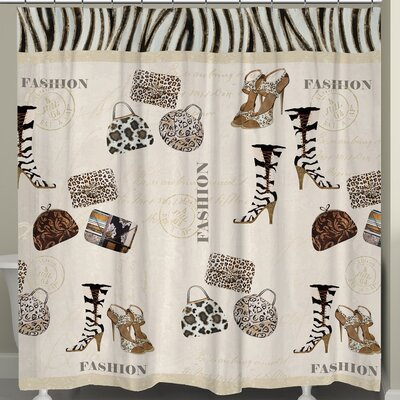 Wild for Fashion Shower Curtain