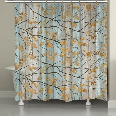 Serene Branches Shower Curtain