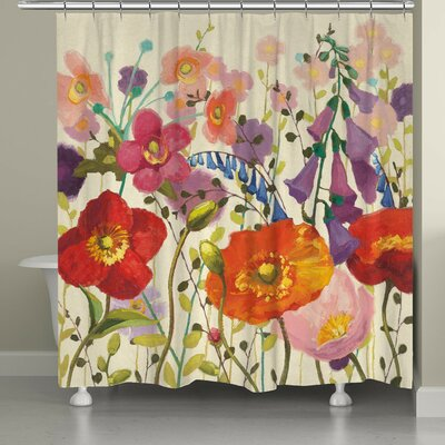 Lilli Couleur Printemps Shower Curtain