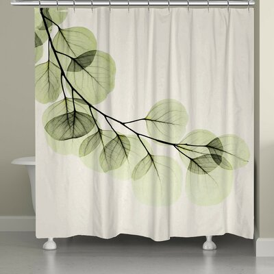 Burns Eucalyptus Shower Curtain