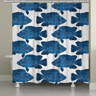 Keilen Fish Shower Curtain