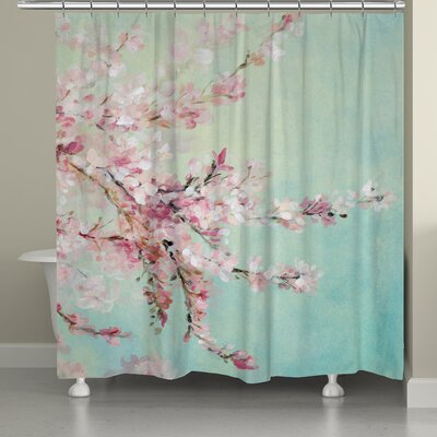 Tyron Cherry Blossoms Shower Curtain