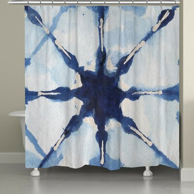 Brasher Shibori Shower Curtain