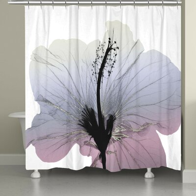 Brownville Wild Grape Hibiscus Shower Curtain