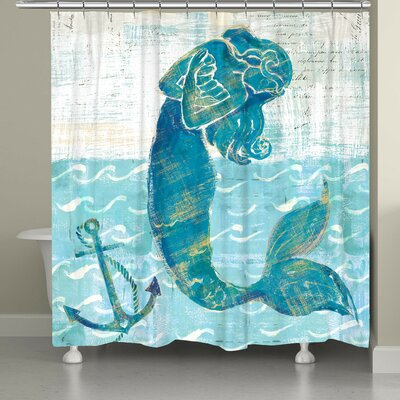Provance Mermaid of the Seven Seas Shower Curtain