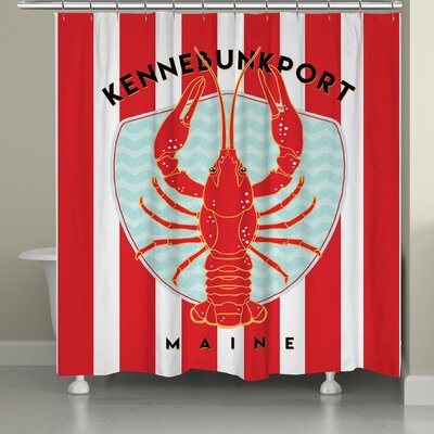 Sheldon Kennebunkport Shower Curtain