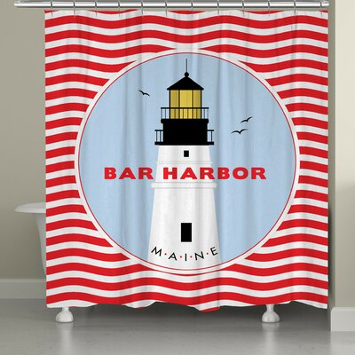 Ashberry Bar Harbor Shower Curtain