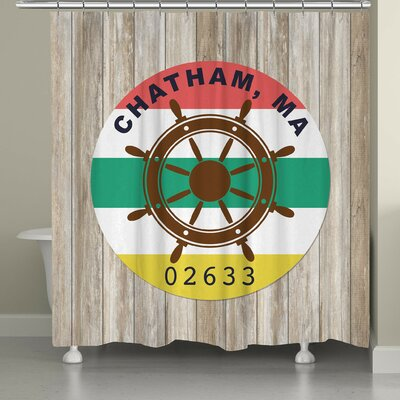 Scott Chatham Shower Curtain