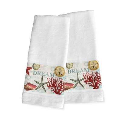 Dream Beach Shells Hand Towel