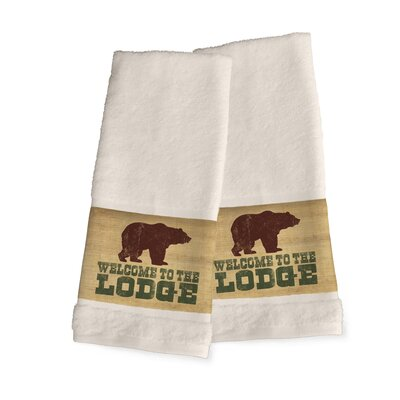 Welcome to the Lodge Hand Towel