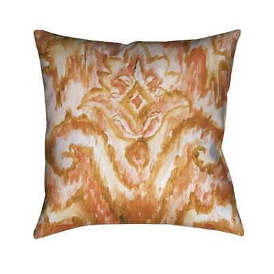 Camillus Outdoor Throw Pillow Color: Brown