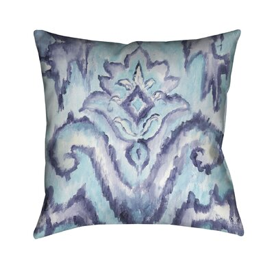 Camillus Outdoor Throw Pillow Color: Blue