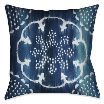 Branch Square Outdoor Throw Pillow