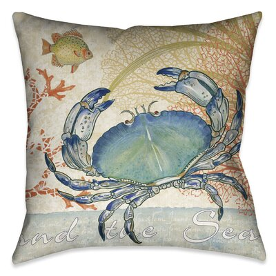 Waterside Outdoor Throw Pillow