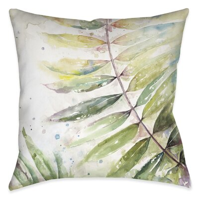 Ellsworth Watercolor Outdoor Throw Pillow