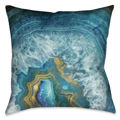 Busti Outdoor Throw Pillow Size: 18 x 18