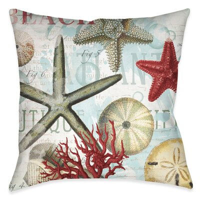 Elmore Outdoor Throw Pillow Size: 18 x 18