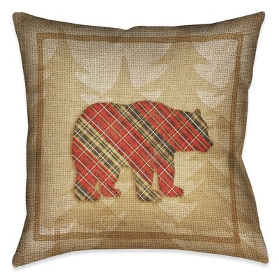 Jamari Outdoor Throw Pillow Size: 18 x 18