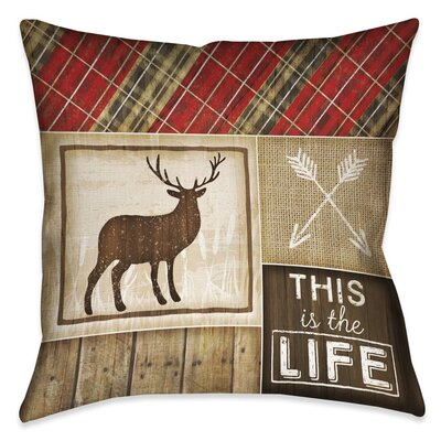 Jamari Square Waterproof Square Outdoor Throw Pillow Size: 20 x 20