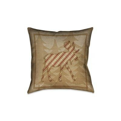 Jamari Waterproof Outdoor Throw Pillow Size: 18 x 18