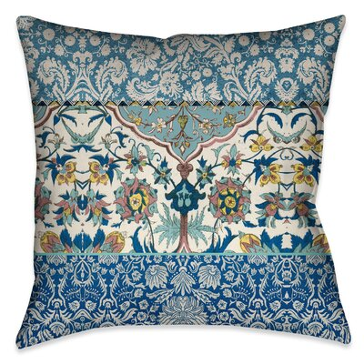 Burgess Outdoor Throw Pillow Size: 18 x 18