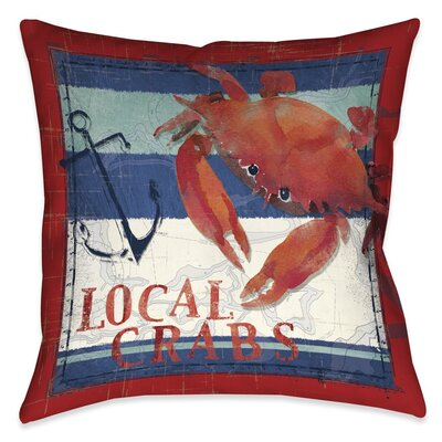 Asleigh Outdoor Throw Pillow Size: 18 x 18