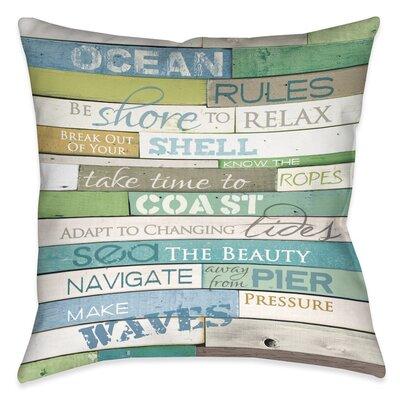Westchester Outdoor Throw Pillow Size: 18 x 18