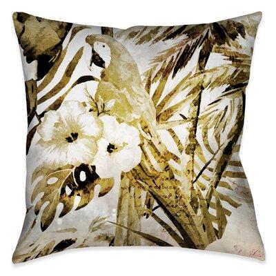 Elodia Outdoor Throw Pillow Size: 18 x 18