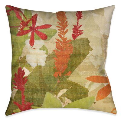 Solomon Square Outdoor Throw Pillow Size: 20 x 20