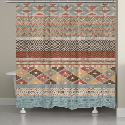 Avedon Southwestern Stripe Shower Curtain