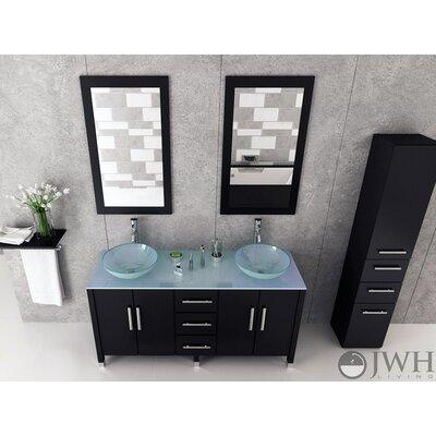 Sirius 59 Double Bathroom Vanity Set