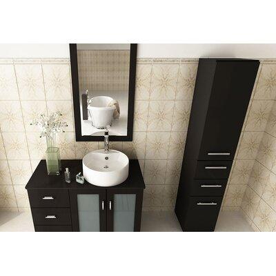 39 Single Lune Modern Bathroom Vanity Set