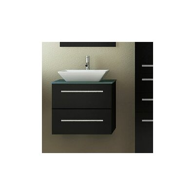 Carina 24 Single Vessel Modern Bathroom Vanity Set
