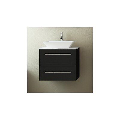 Carina 24 Single Wall Mounted Bathroom Vanity Set