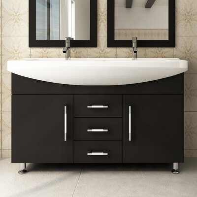 Celine 48 Double Bathroom Vanity Set