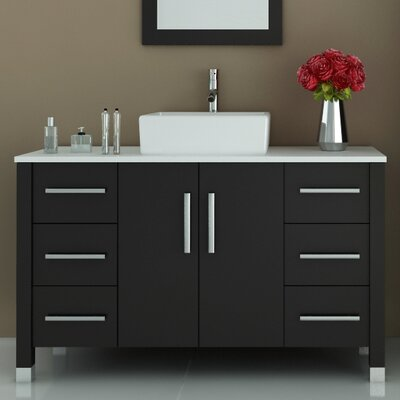 Grand Crater 47.25 Single Bathroom Vanity Set