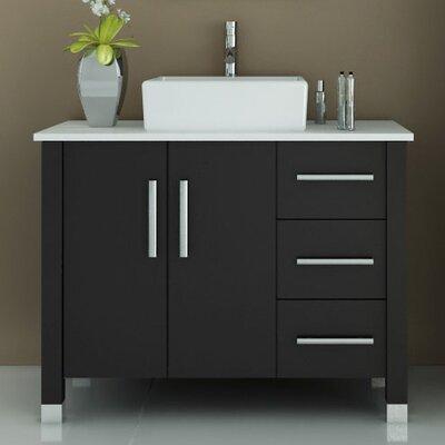 Keanu 39.5 Single Modern Bathroom Vanity Set