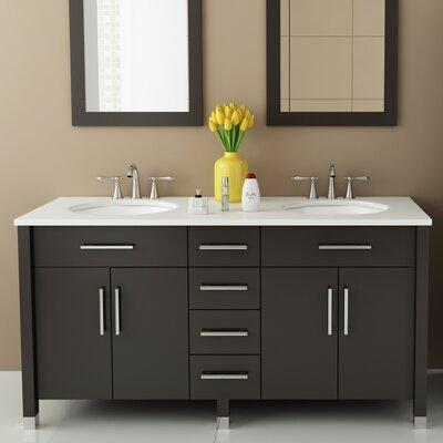 Rana 59 Double Bathroom Vanity Set