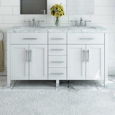 Grand Boardwalk 72 Double Bathroom Vanity Set