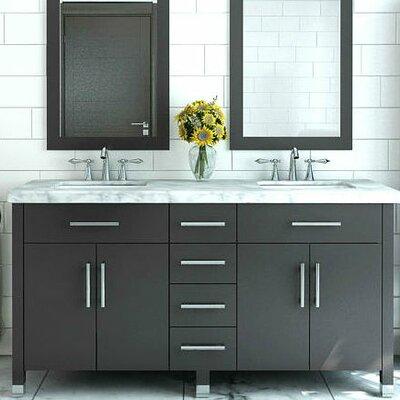 Grand Rana 72 Double Bathroom Vanity Set