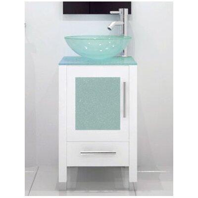 Electrolux 17.75 Single Bathroom Vanity Set Base Finish: White