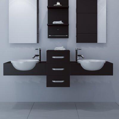 Modus 59 Double Bathroom Vanity
