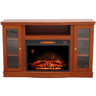 Donna Comfort Glow 52 TV Stand with Fireplace