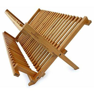 Culina Bamboo Fold-able Dish Rack