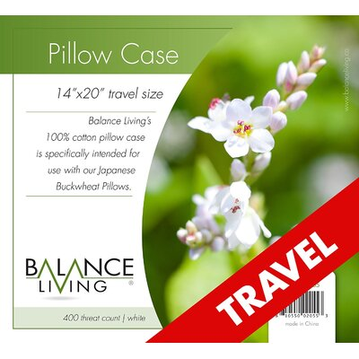 Balance Living Travel Pillow Case