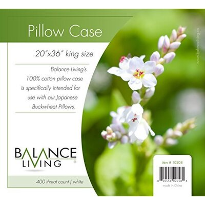 Balance Living King Pillow Case