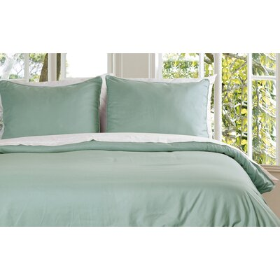 Duvet Cover Set Size: King, Color: Sage