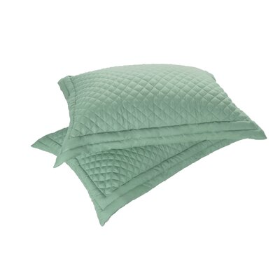 Sham Set Size: Standard, Color: Sage